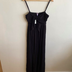Black Tank Maxi Dress New With Tags! Size S